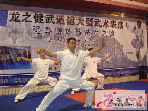 龙之健武道馆成功举办迎奥运大型武术表演晚会