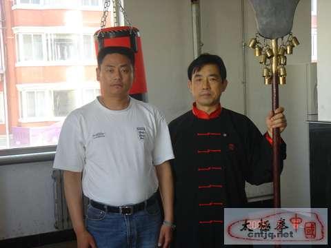 姜启健先生与孙凤祥先生合影