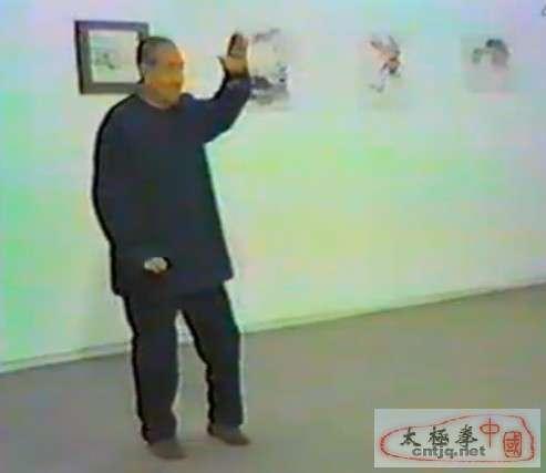 马岳梁表演吴氏太极快拳