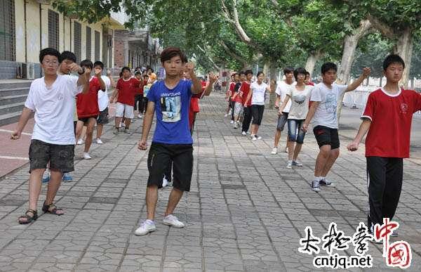 温县太极武术馆暑假班