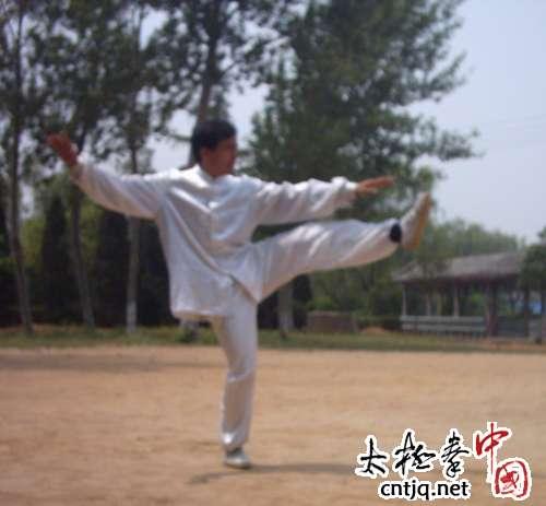 杨式太极拳发劲