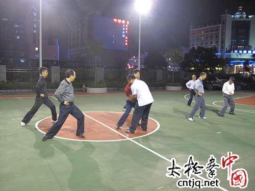 深圳市观澜工商所太极拳培训班开班