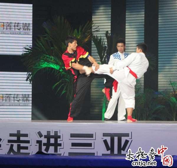 《武林大会走进三亚》太极选手陈志诚赛场风采