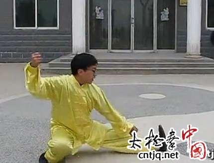 陈志伟讲解摆脚跌叉的练习要点和注意事项