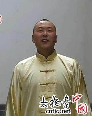刘小胖:太极拳按劲展示