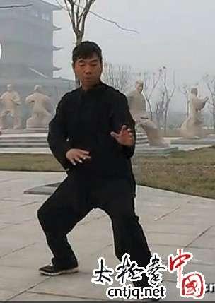 张福旺:闪通背的练法