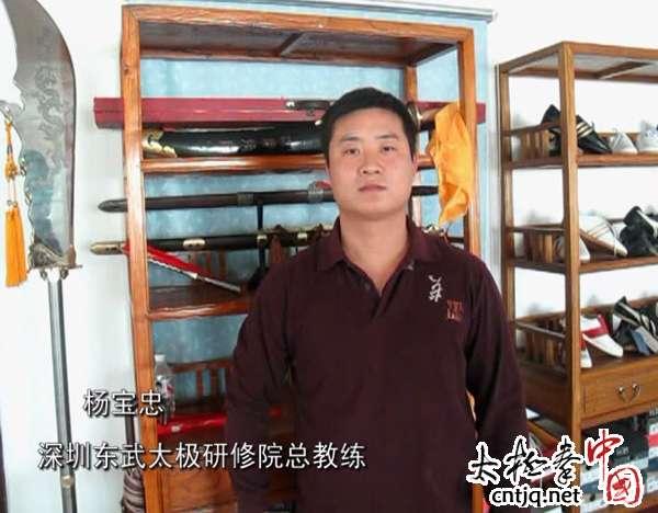 杨宝忠讲解六封四闭、单鞭的练法与应用