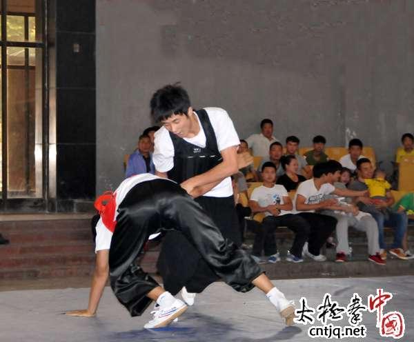 温县第十八届太极推手锦标赛赛场掠影(二)