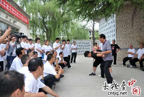 全国太极拳传统活步推手培训班掠影(二)
