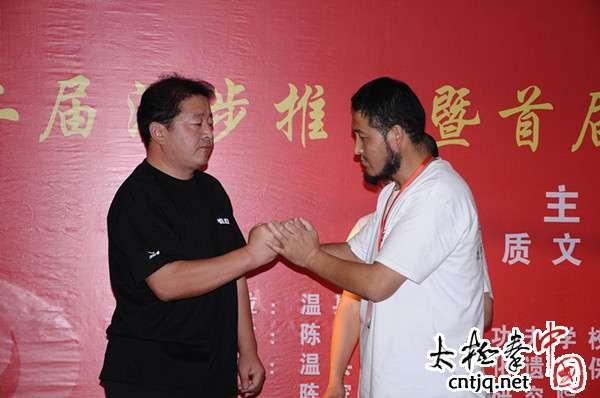 独家专访:首届陈照森太极推手高级培训班教练员王大春