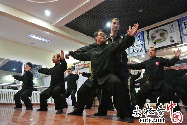 宏扬中华太极文化  打造万民同康乐园
