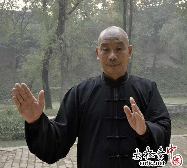 视频:陈家沟陈长义(六有)演练陈式小架