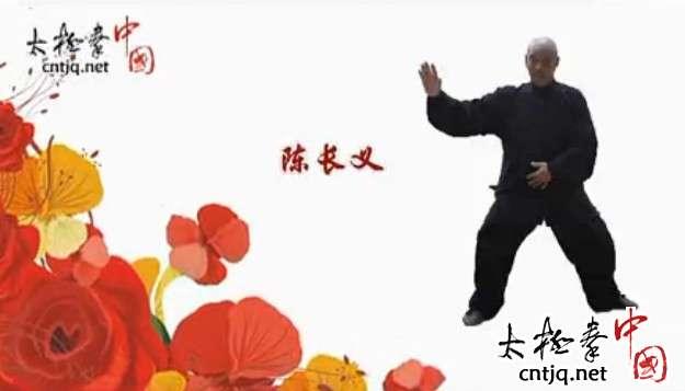 视频:陈长义演练太极拳小架一路