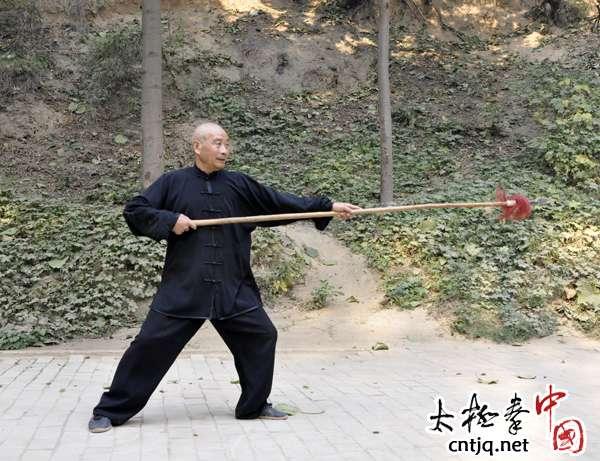 视频:陈长义——陈氏太极枪演示