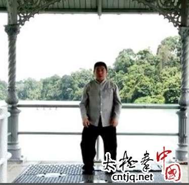 杨式太极养生功第6势 - 天女散花