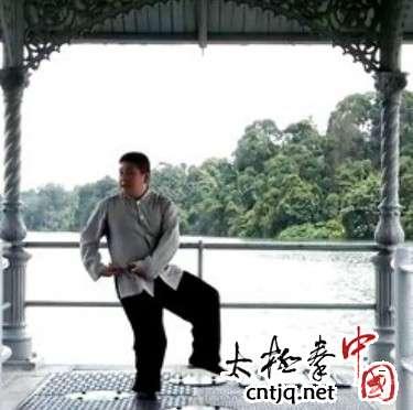 杨式太极拳循环八势 - 第6势 搂膝拗步