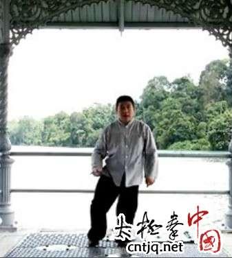杨式太极拳循环八势 - 第7势 十字手