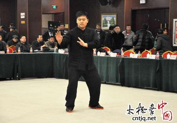 温县拳师新春联谊会名家表演