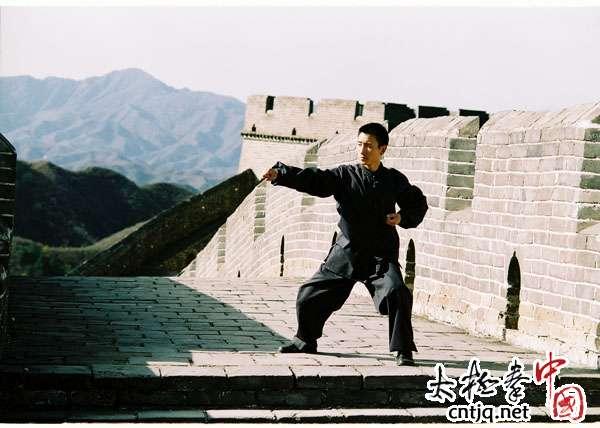 北京电视台走进庆源太极--青年汉学家学习太极拳