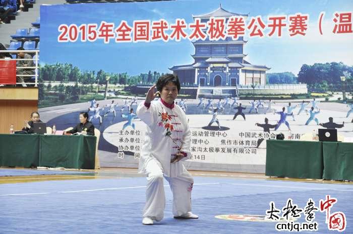 2015全国武术公开赛赛场掠影(一)