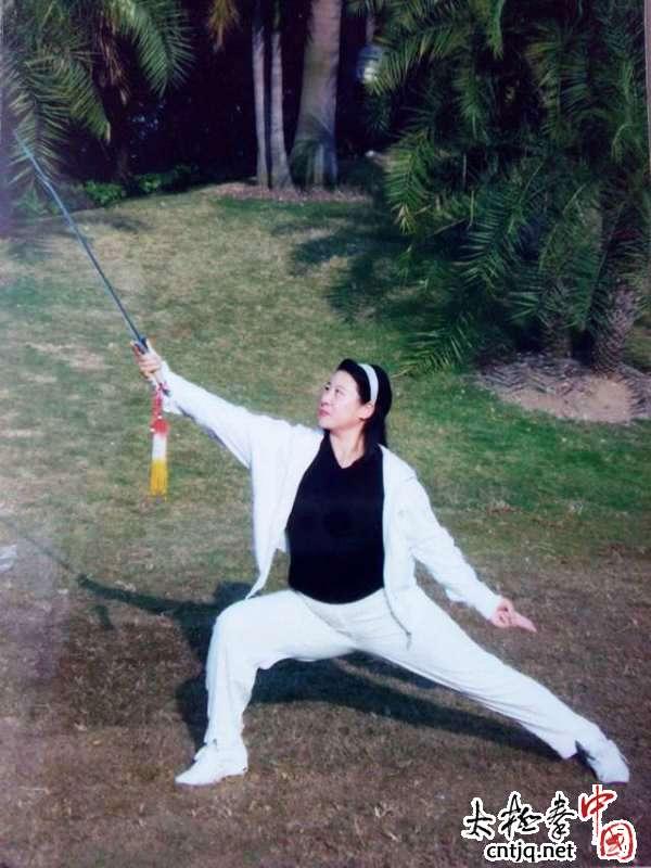 【王娟聊太极】陈桂珍:双剑女皇  邻家大姐