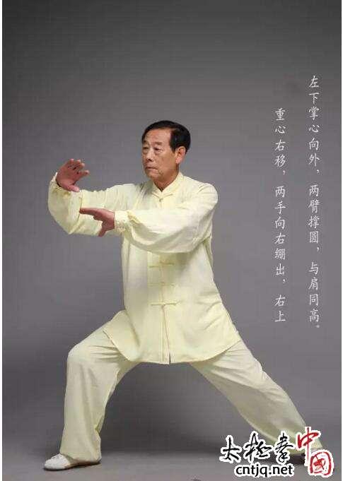 王西安拳法养生八式动作讲解(四)