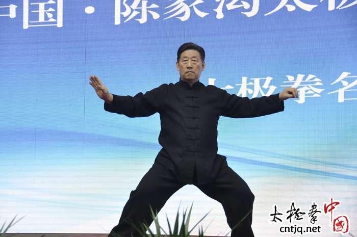 【视频】陈家沟太极文化旅游季 陈小旺大师精彩太极拳表演