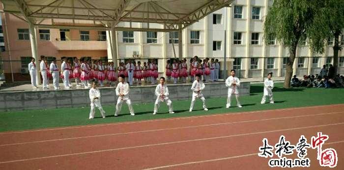 当经典诵读与中华武术在淳化县城关小学精彩邂逅