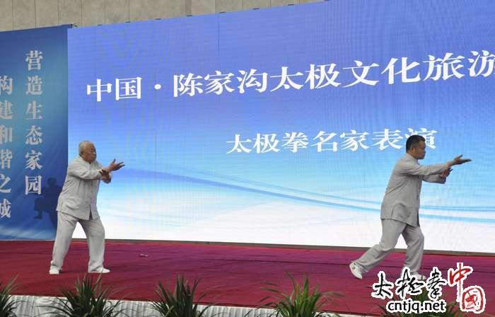【最新视频】陈家沟太极文化体验季 翟维传 翟世宗武式太极拳表演