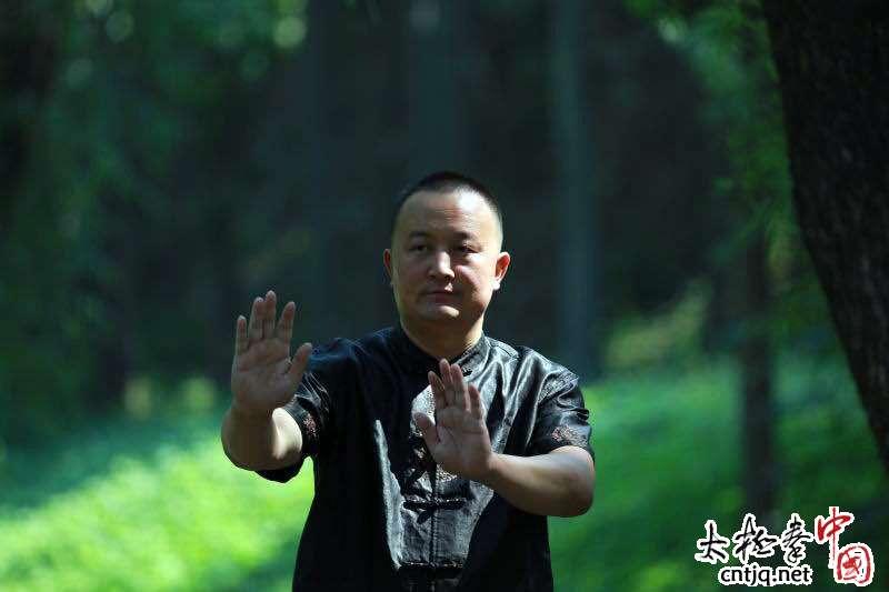 中国陈家沟太极拳名家大讲堂陈冲老架一路暨推手实战培训班