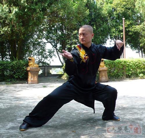 徐胜表演的陈式太极拳综合套路