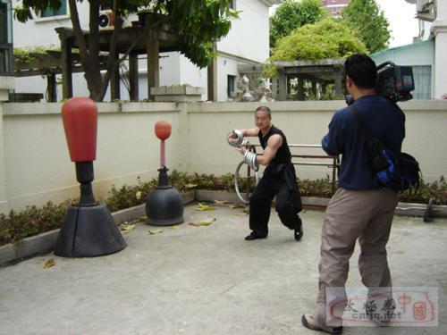 央视来温拍摄《温州南拳》专题片