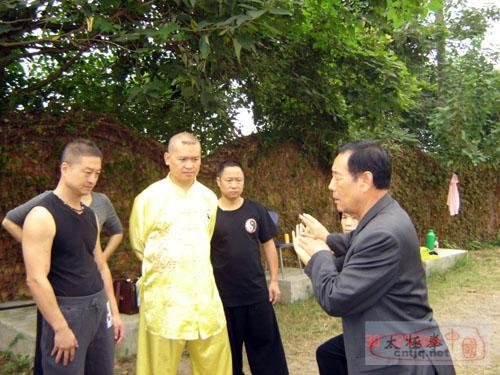 太极大师王西安在温州