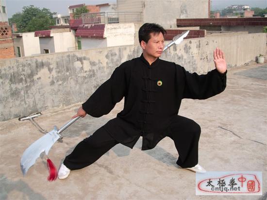 中国太极拳优秀人才——耿见峰