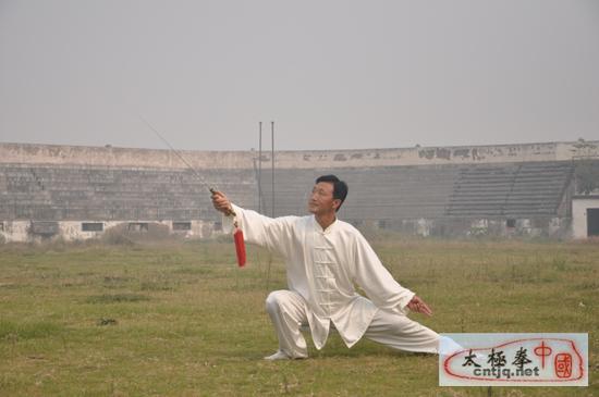 中国太极拳优秀人才——李建中