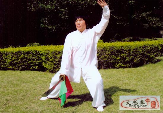 中国太极拳优秀人才——陈燕华