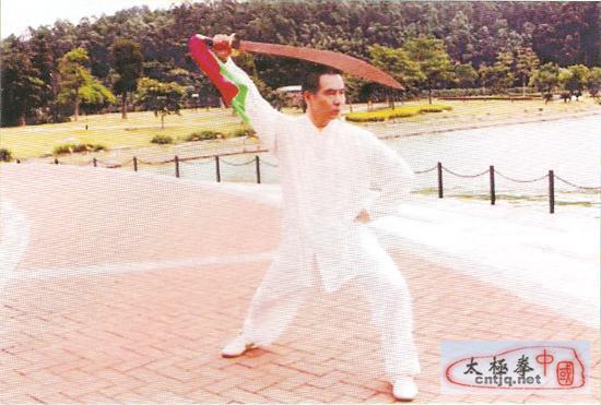 中国太极拳优秀人才——梁伟焯