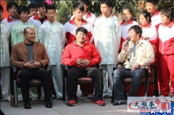 温县电视台专访武林大会荣归军团