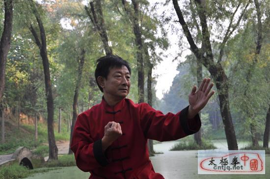 济宁太极会馆的创始人——傅君