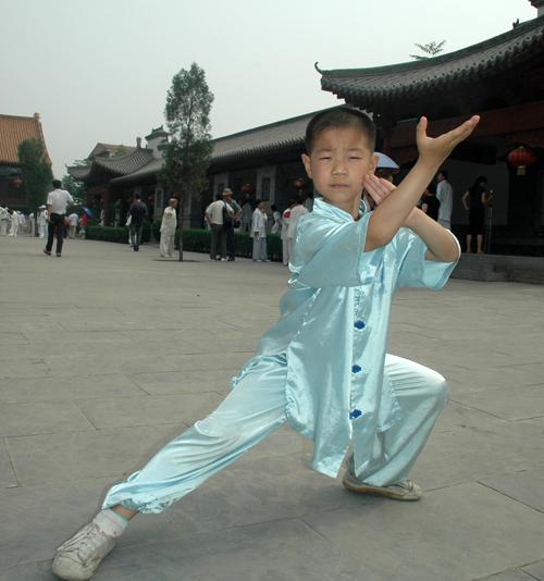 中国太极拳网暑期青少年太极拳培训班
