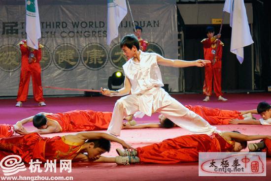 2010第三届世界太极拳健康大会开幕式图