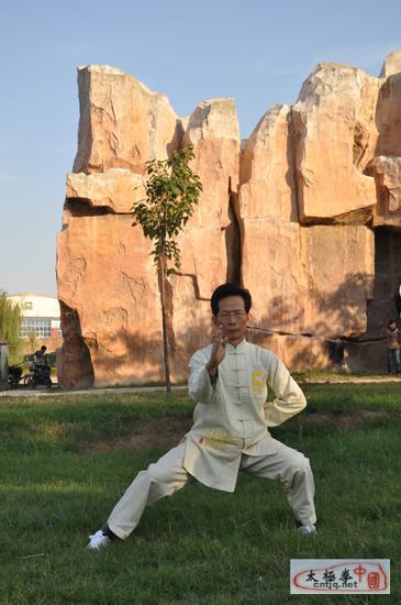 中国太极拳优秀人才——李卓鸿