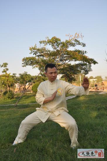 中国太极拳优秀人才——江喆生