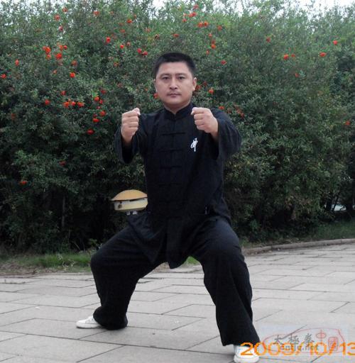 陈大虎讲解里合腿单势的训练