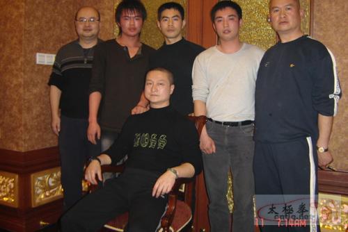 2005年徐胜老师收徒