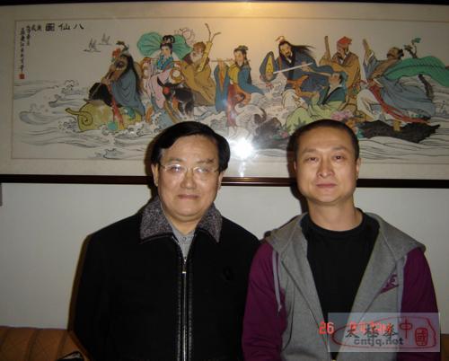 徐胜和全国十大名画家孟庆江先生