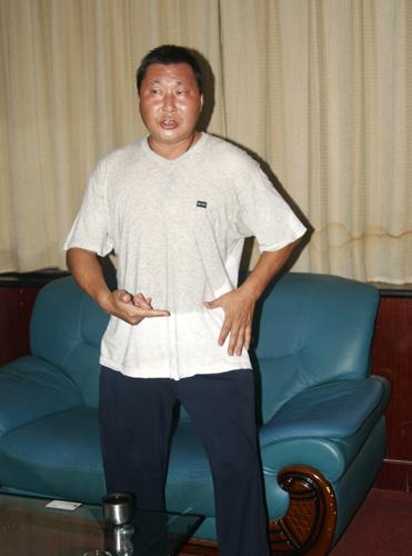 王长安:丹田和胯的关系