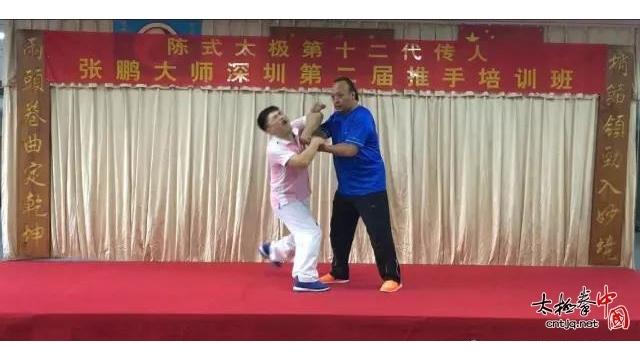 张鹏先生深圳第二届推手培训班掠影