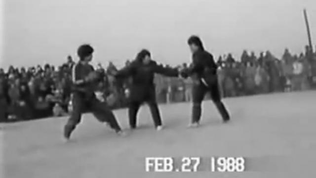 【实战】1988年的八极拳对打实战