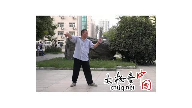 """杨式太极拳的""""群练""""和""""做窝"""""""""""
